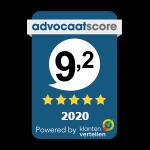 Advocaatscore 2020 - De Neef Advocaten