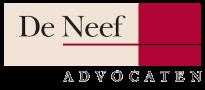 Logo transparant De Neef Advocaten